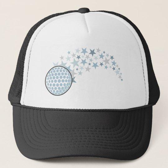 Shining Golf Star Trucker Hat