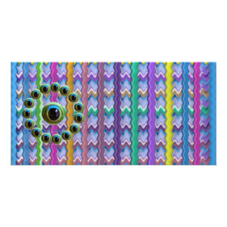 Shining Graphic Sparkle Rods  n Dragons Eye Camera Photo Card