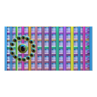 Shining Graphic Sparkle Rods  n Dragons Eye Camera Picture Card