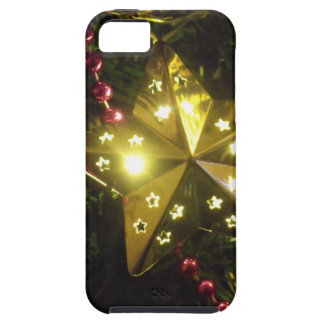 Shining Holiday Star Christmas Lights iPhone SE/5/5s Case