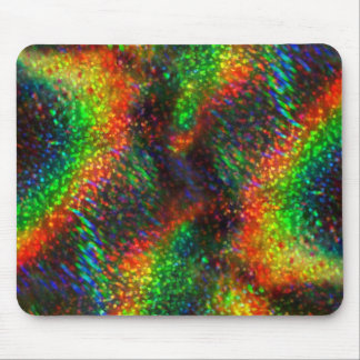 Shining Holographic Bright Rainbow Lights Glitter Mouse Pad