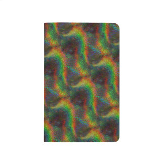 Shining Holographic Rainbow Lights Glitter Wave Journal