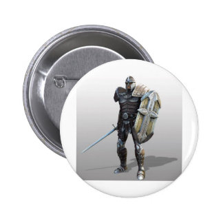 Shining Knight Pinback Button