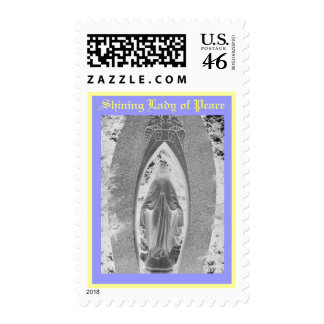 Shining Lady of Peace Postage