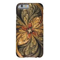 Shining Leaves Fractal Art iPhone 6 Case