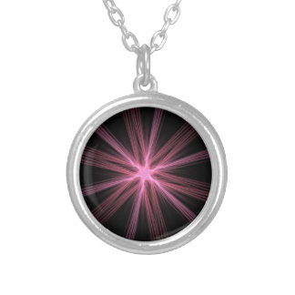 Shining Light Silver Plated Necklace