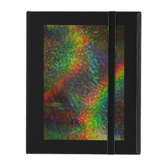 Shining Lights Holographic Glitter Rainbows iPad Cover