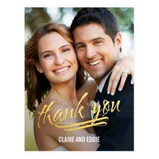 Shining Moment Photo Thank You Card