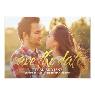 Shining Moment Save The Date Card