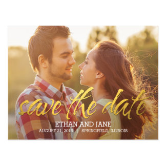Shining Moment Save The Date Postcard
