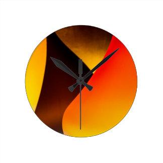 Shining Murano Glass Round Clock