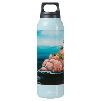 Shining Point Lighthouse Insulated Water Bottle