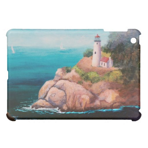 Shining Point Lighthouse IPad Case