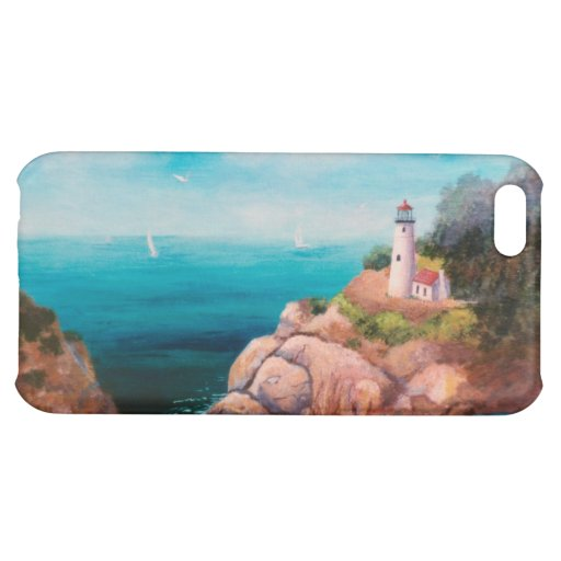 Shining Point Lighthouse IPhone 4 Case