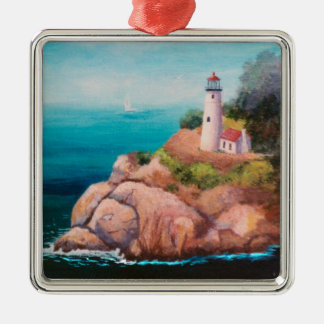 Shining Point Lighthouse Ornament