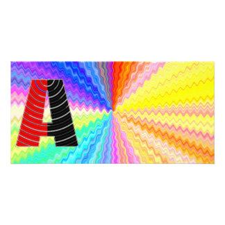 Shining Rainbow Mettallic Shade  n Art101 Graphic Card