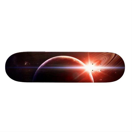 """""""Shining Saturn"""" Skateboard"""