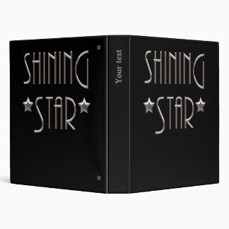 Shining Star 3 Ring Binder