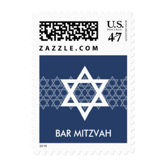 Shining Star Bar Mitzvah Postage