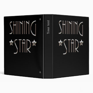 Shining Star Vinyl Binder