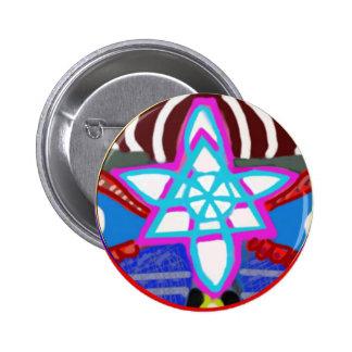 Shining STAR -  Karuna Reiki NOSA 2 Inch Round Button
