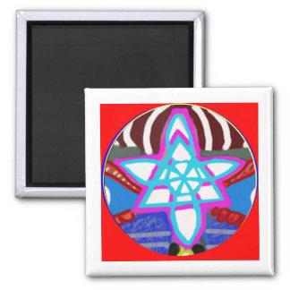 Shining STAR -  Karuna Reiki NOSA Fridge Magnets