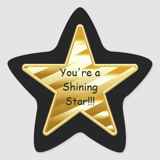 Shining Star Star Stickers