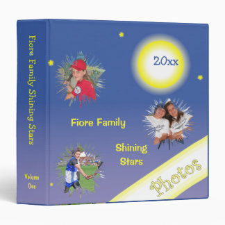 Shining Stars Family Photo Keepsake Album Binders