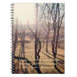 Shining Through Journal Spiral Note Books