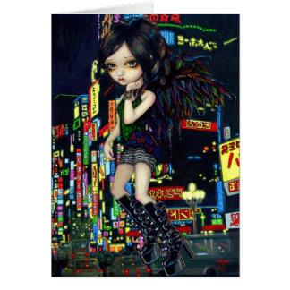 Shinjuku Angel Greeting Card