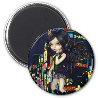 """""""Shinjuku Angel"""" Magnet"""