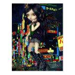 """Shinjuku Angel"" Postcard"