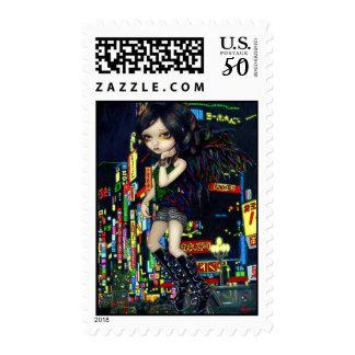"""""""Shinjuku Angel"""" Stamp"""