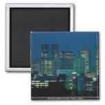 Shinjuku skyline at dusk, Tokyo, Japan Fridge Magnets