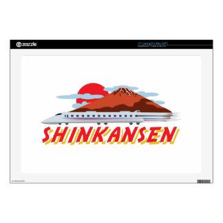 Shinkansen Skins For Laptops