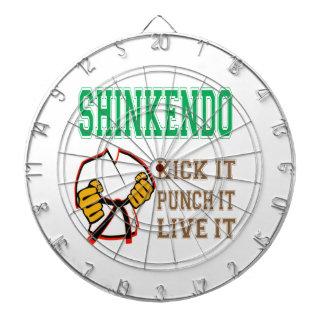 Shinkendo Kick it, Punch it, Live it Dartboards