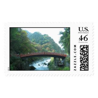Shinkyo Sacred Bridge Stamps