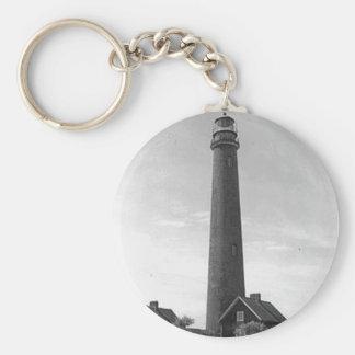 Shinnecock Lighthouse Basic Round Button Keychain