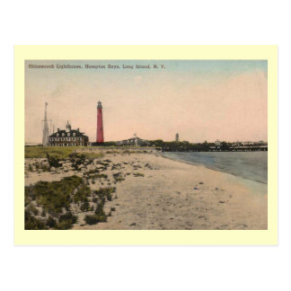 Shinnecock Lighthouse, Long Island Vintage Postcard
