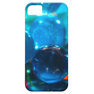 Shinning blue glass beads iPhone SE/5/5s case