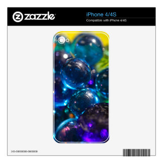 Shinning  glass beads skin for the iPhone 4