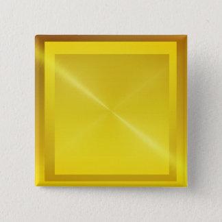 shinning golden look button