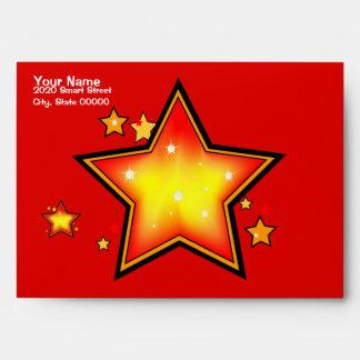 Shinning Star Award Greeting Envelope