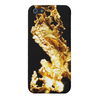 Shinny Gold iPhone 5 Covers