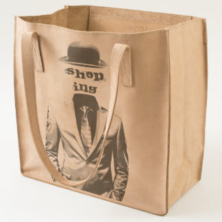 Shinny Suit Bowler Hat Tote