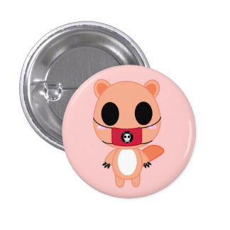 Shino the Squirrel Button