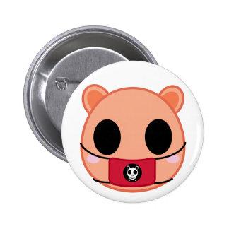 Shino the Squirrel (Head) Button