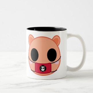 Shino the Squirrel (Head) Two-Tone Coffee Mug