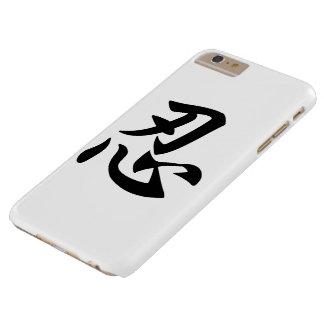 Shinobi [忍] - caso del iPhone Funda De iPhone 6 Plus Barely There