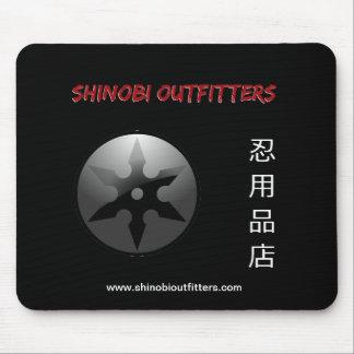 Shinobi Outfitters Kanji & Logo Mousepad